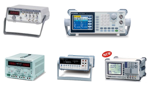 Our Products - Oscilloscope, Signal Sources, Power Supply